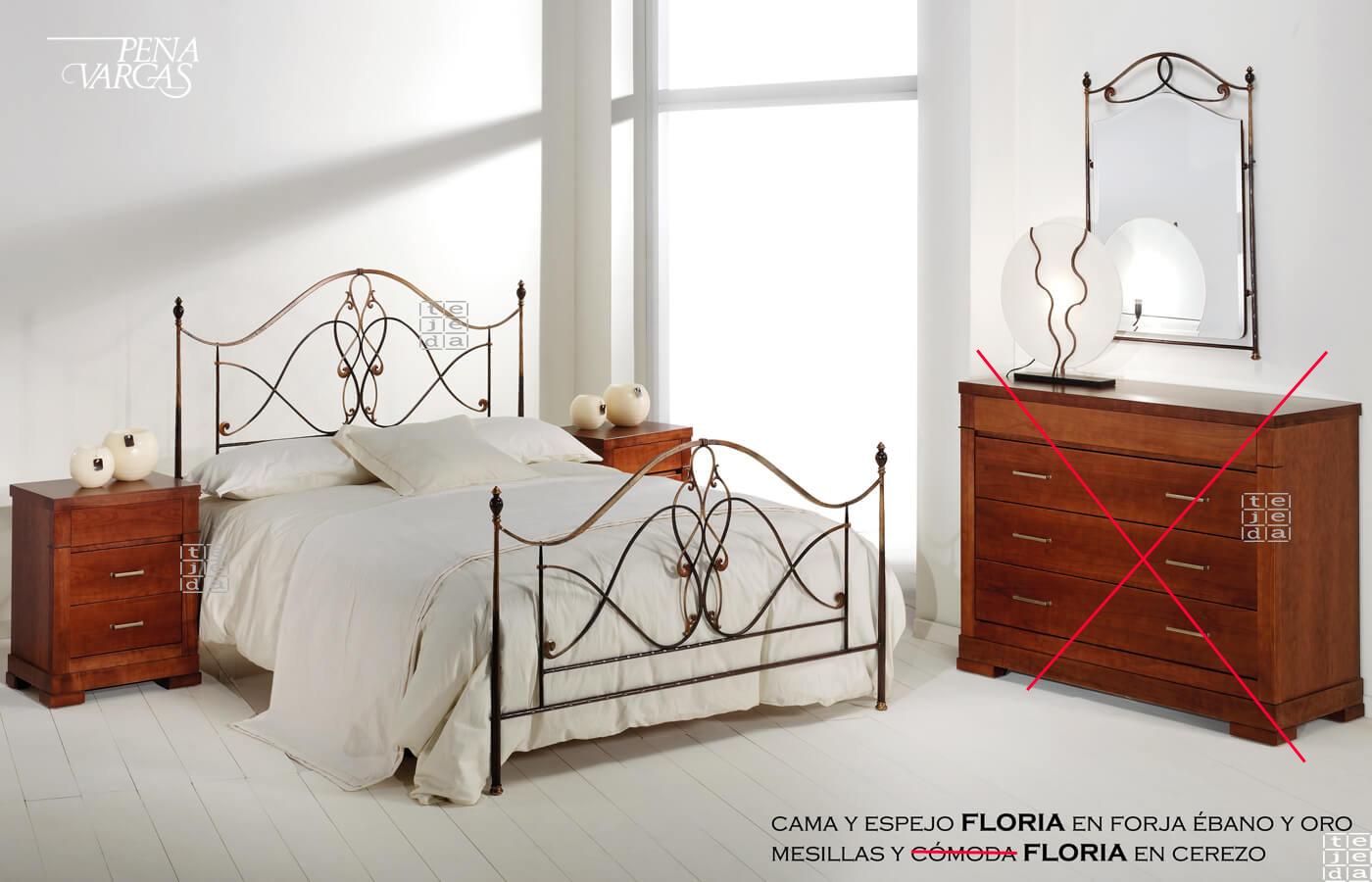 Complementos Floria De Pe A Vargas Cabeceros Y Camas De Forja # Muebles Ebano Vargas