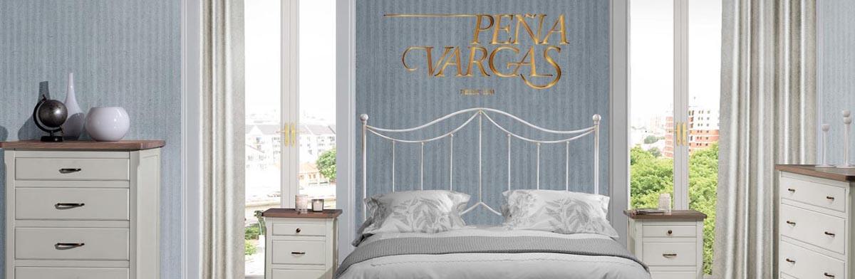 Peña Vargas | camas y cabeceros de forja y latón