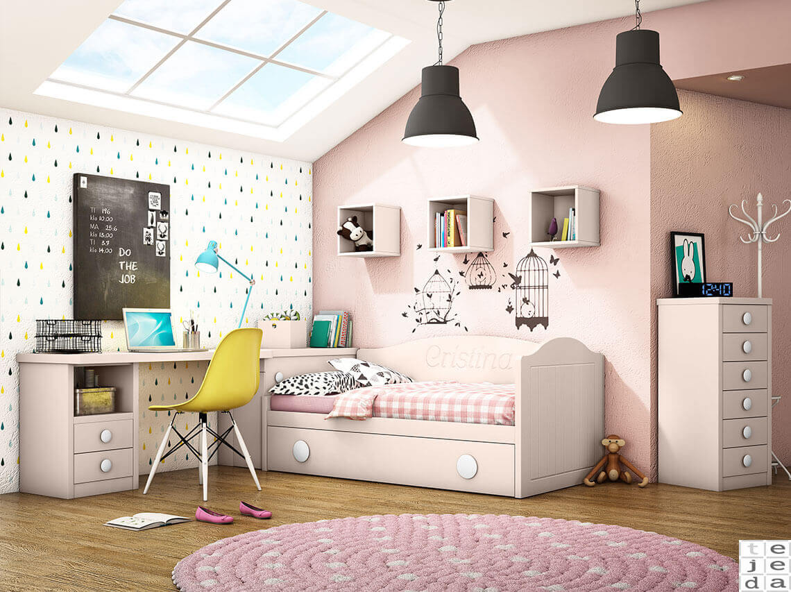 Mueble Juvenil en Madrid, catálogo de camas nido para habitaciones ...
